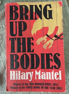 Front cover of the paperback version of Bring Up the Bodies - Hilary Mantel